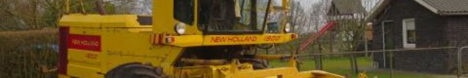 New Holland  1900 4WD Hakselaar